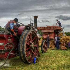 6 Steam on the farm