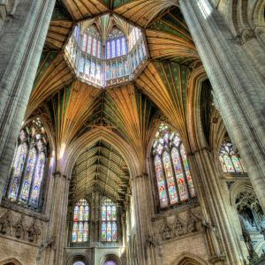 The Octagon at Ely Cathedral cw