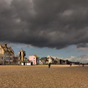 The impending storm Aldeburgh